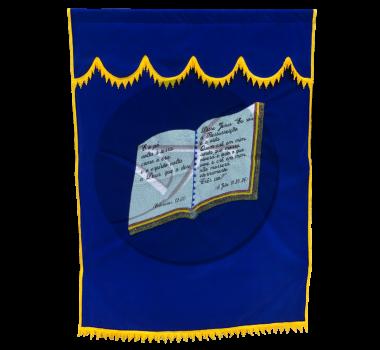 CORTINA SIMPLES BIBLIA AZUL ROYAL