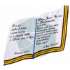 CORTINA LUXO BIBLIA AZUL ROYAL